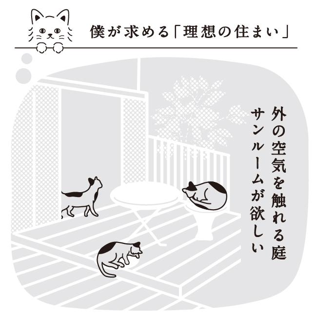 京都 猫と人が暮らすモデルハウス